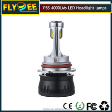 2017 p8s new led headlight 40w 4000lumens superior light pattern h7 h11 9005 h1 h3 h8 h9 for car accessories factory price