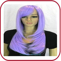 long purple cosplay ombre synthetic wigs in manila PGW-0789
