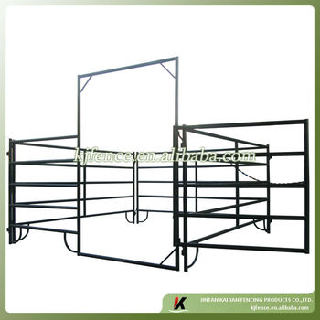2.8m wide PVC coated steel metal farm panel