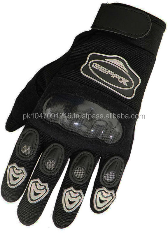 Kids MX Motocross MotorCycle Gloves Knuckle Kevlar Protection All sizes (XL)