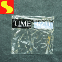 Custom printed resealable PP cellophane plastic merchandise bag