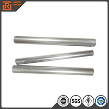 Mild carbon round galvanized steel pipe, erw steel fence post factory prices