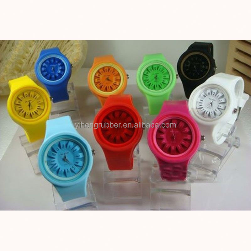 ISO certificate factory Factory OEM easy time watch silicon