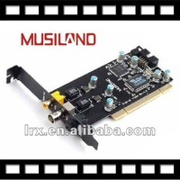 Musiland Digital Times Sound card PCI S/PDIF optical BNC