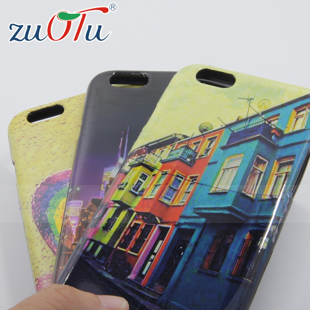 2016 best selling design printing phone case custom UV printing PC&TPU case for iphone