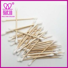 medical cotton buds swabs with wooden shaft