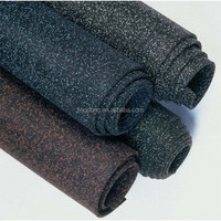 Anti Slip thick outdoor rubber flooring rolls