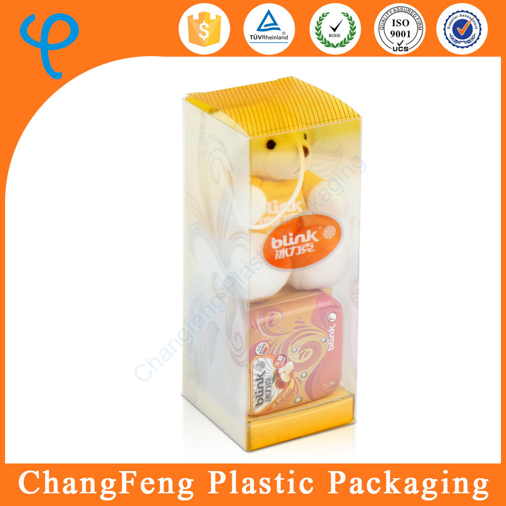 customized logo plastic packaging gift boxes