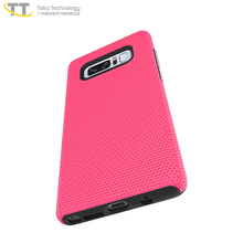 Hard tpu pc back cover bumper case for samsung galaxy note 8 plus case 2 in one with bumper pink