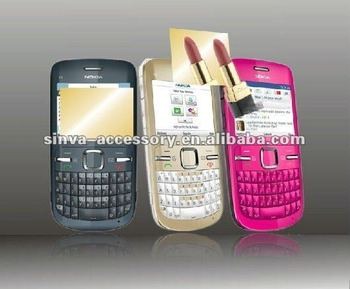 Colorful mirrior screen protector for all blackberry modles