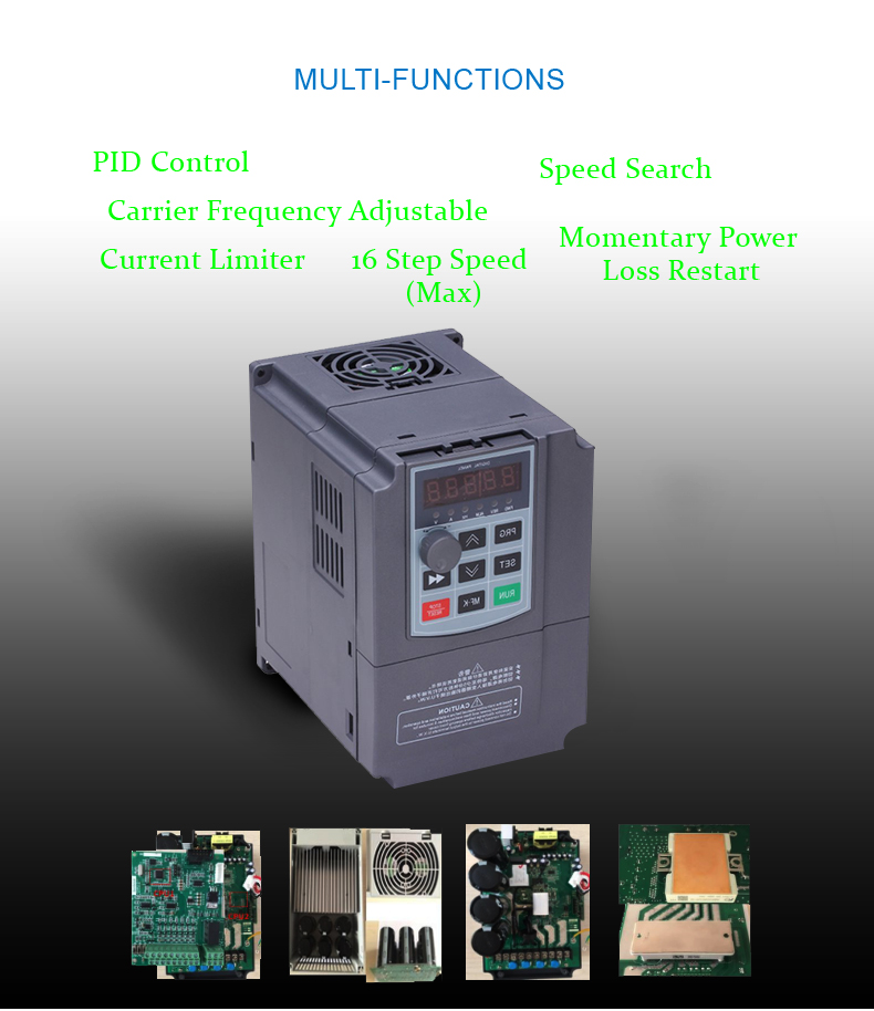 3 phase 380V solar MPPT Frequency inverter for pumping water