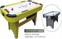 Shenzhen China manufacturer 6ft electric classic air hockey table wholesale