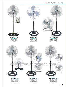18 inch industrual fan with Strong Wing