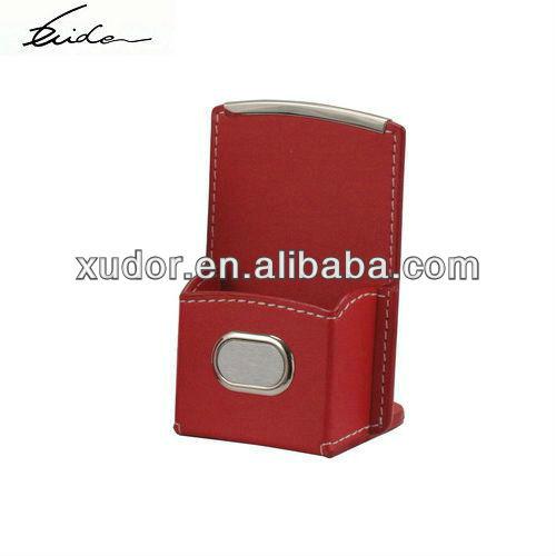 OFFICE LEATHER PEN CONTAINER
