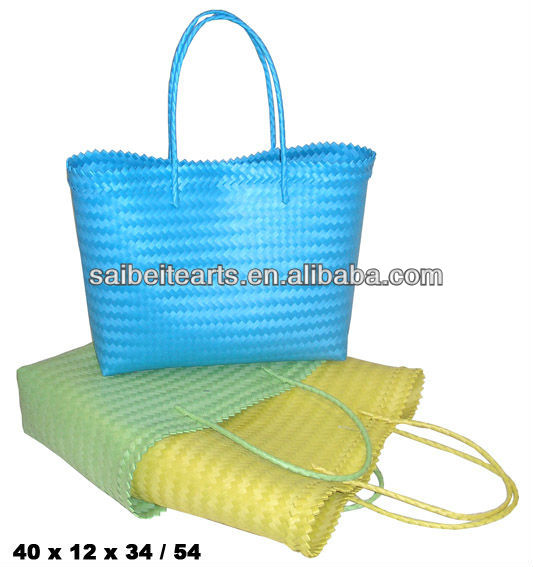 Wholesale Plastic Woven Shopping Bag Factory Directly Supply