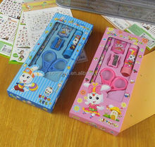 Promotional colourful best-selling eco customized office stationary set