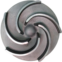OEM forged brass pump impeller stainless steel water pump impeller aluminum impeller
