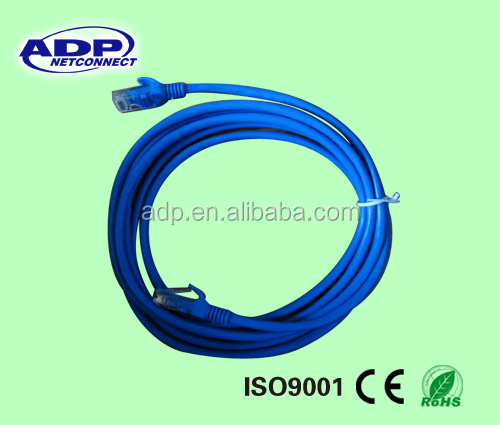 rj 45 connectors round flat cat 5 patch cord cable