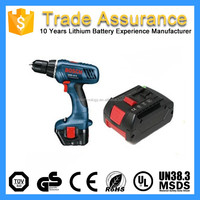 14.4V 4000mAh 4S2P 18650 Electric Power Tool Rechargeable Battery Pack Kit