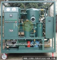 Single Stage Vacuum Transformer Oil Filter/Filtration