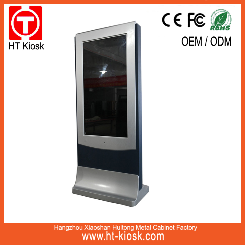 46 inch touch screen kiosk,custom lcd and touch screen advertising player