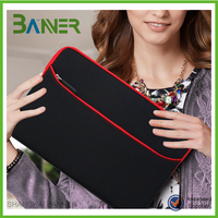 Fashion portable shockproof neoprene 12.5 inch laptop sleeve