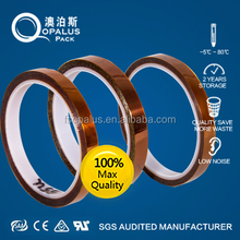 Double sided permanent bonding PCB gold finger protection adhesive tape