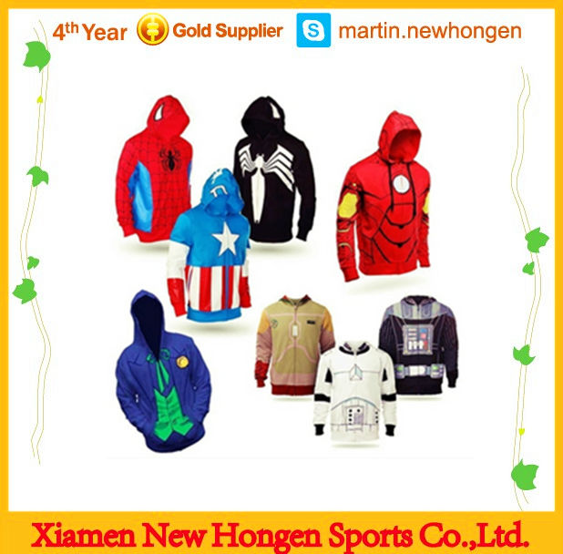 High Quality Sublimation Wholesale Plain Hoodies