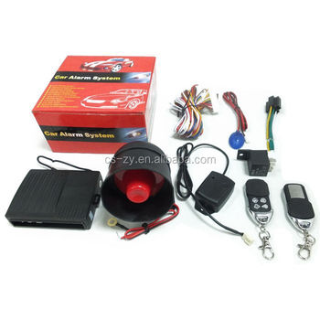 Professional Car Lock System Manual Engine Start
