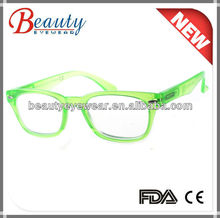 Shiny popular color fluorescent light eyeglasses for young person