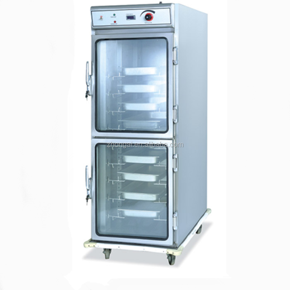 Mobile Kitchen Equipment Mobile Electric Stainless Steel Food Warmer Cabinet Kitchen