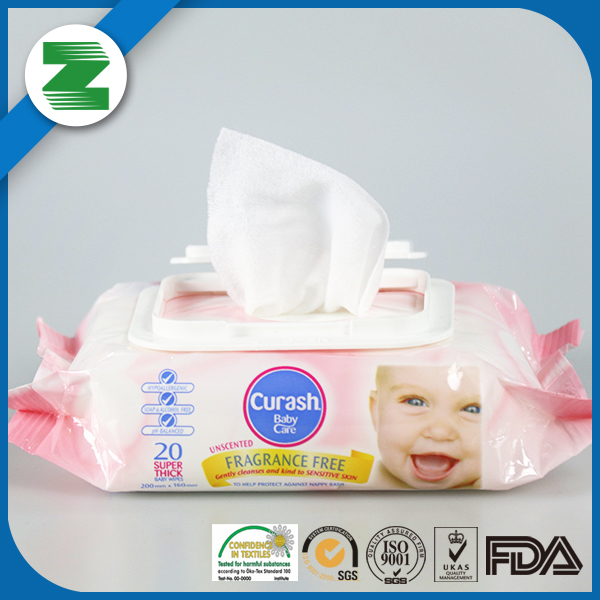 Competitive price baby cleaning baby oil wipes