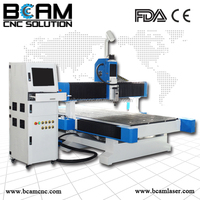 multipurpose woodworking machine - NEW cnc router woodworking machine with X,Y axis dust cover BCM1325
