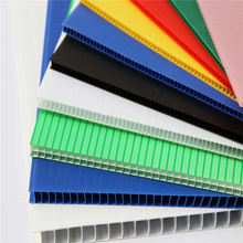Customize Colorful Ribbed Coroplast Sheets Plastic Sheets Corrugated Hollow Board