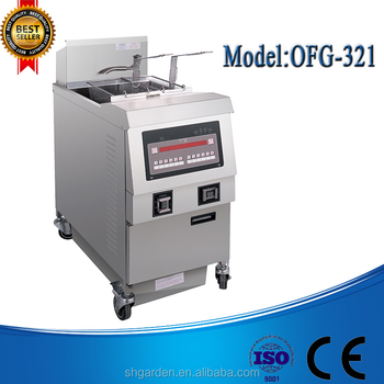 OFG-321 CE High Quality High Efficient Electric Deep fish and chips fryers
