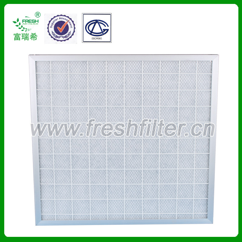 G2-F5 High temperature resistance fiberglass panel filter Manufacturer air intake filter