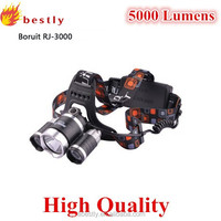 Led flashlight head lamp with 4 models xml xm-l 3t6 led bike headlamp 5000lumens high power headlamp