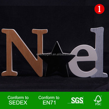 2017 New Walmart Factory Audit design decaration letters smart table letters gift letters block stand
