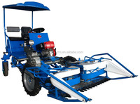 new model sorghum harvester with comfortable two seats 4wheel