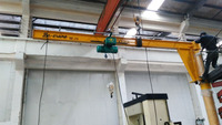 Remote Control Luffing Electric Hoist Protable 5 ton Jib Crane new 2016 best price
