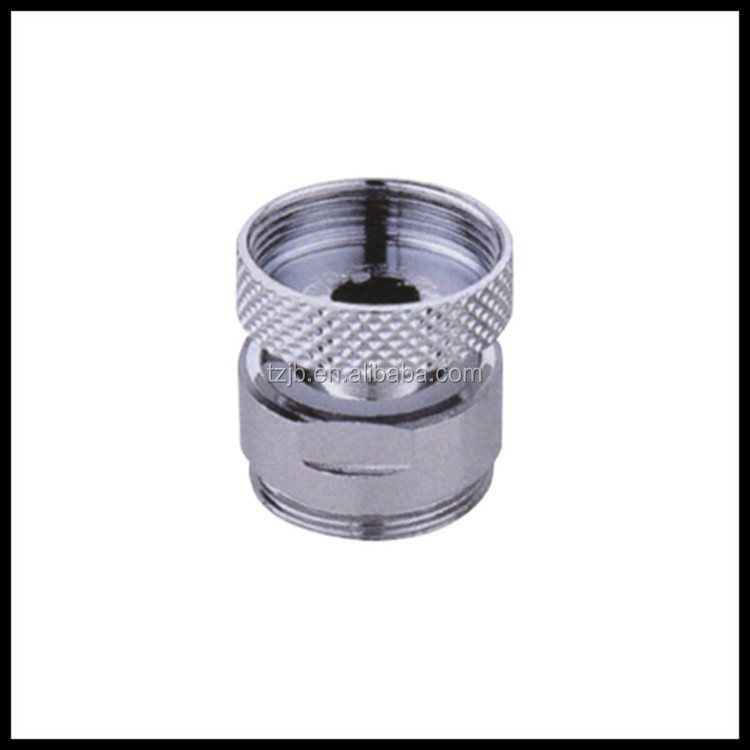 360 revolve Water Saving Faucet Aerator, Female and Male Screw, POM Core with Brass Shell J-A-053