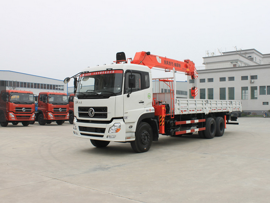 Hot sale Perfect Truck with crane 8ton truck-arm 8660kg 6*4 series