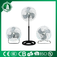 510*120*530mm strong wind industrial pedestal fan cooling full copper motor with fuse