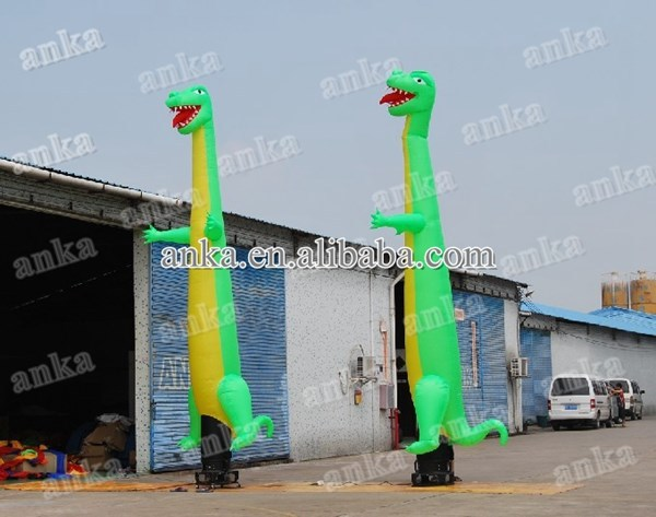 Vivid promotional air puppets type inflatable dinosaur puppets/inflatable advertising air puppets