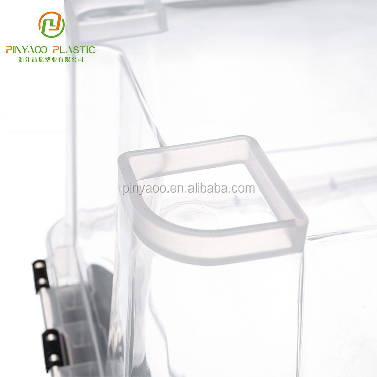 New design widely use professional made transparent storage box