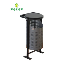 Unique Design Wholesale Stainless Steel Litter Bin PG-A1036