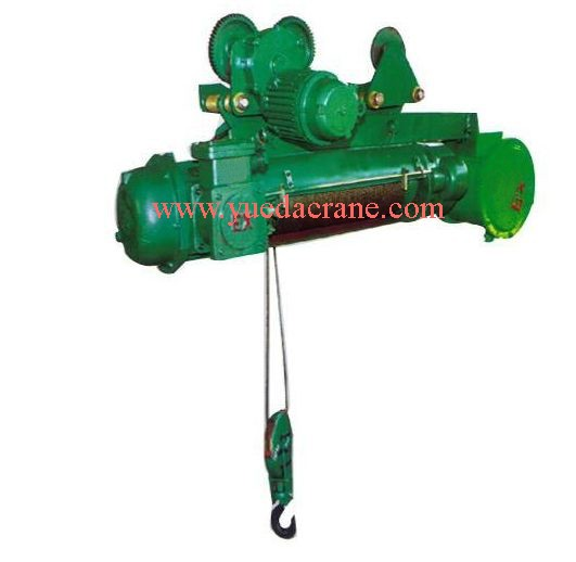 motor lifting electric traveling wire rope hoist for crane 5 ton