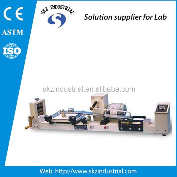 dye rubbing color fastness testing equipment abrasion resistance test equipment
