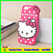 Hello kitty Silicone 3d phone case for Samsung Galaxy J7 cell phone case back cover