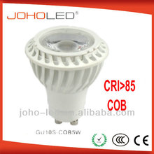 7w 6w 12/24v AC/DC 100-240V AC LED MR16 spot light GU5.3 E27 GU10 lamp base